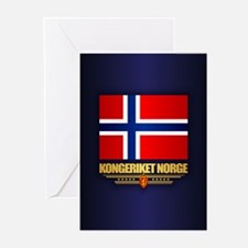 Flag of Norway Greeting Cards