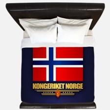 Flag of Norway King Duvet