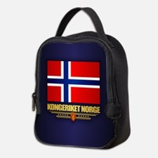 Flag of Norway Neoprene Lunch Bag
