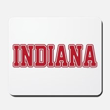 Indiana Jersey Red Mousepad