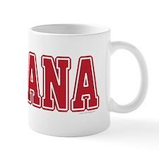 Indiana Jersey Red Mug