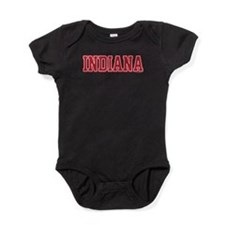Indiana Jersey Red Baby Bodysuit
