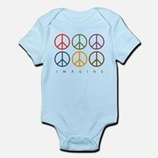 Give peace chance Infant Bodysuit