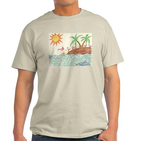 Flamingo Island Light T-Shirt