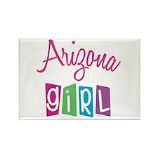 ARIZONA GIRL! Rectangle Magnet (10 pack)