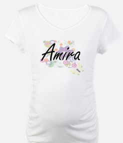 Amira Artistic Name Design with Shirt