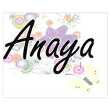 Love anaya Wrapped Canvas Art