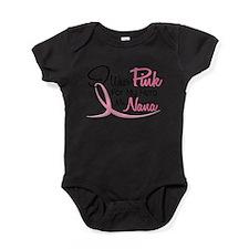 Cool Support cervical cancer awareness teal ribbon Baby Bodysuit