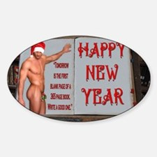 A NEW YEAR IS LIKE A NEW BOOK - GAY Decal