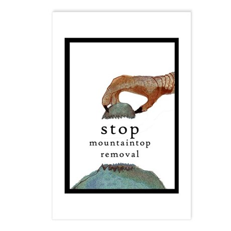 stop mountaintop removal postcards (package of 8)
