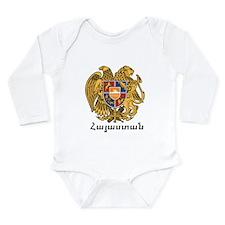 Cool Armenia t Long Sleeve Infant Bodysuit