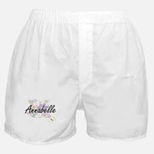 Annabelle Artistic Name Design with F Boxer Shorts