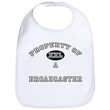Property of a Broadcaster Bib