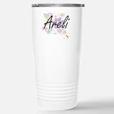 Areli Artistic Name Des Travel Mug