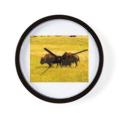 AFTM Buffallo D.R. Thomas Wall Clock