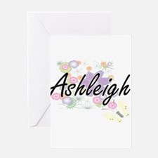 Ashleigh Artistic Name Design with Greeting Cards
