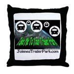 Alien Take Me To Your Trailer Throw Pillow