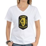 Illinois SP Pipes & Drums Women's V-Neck T-Shirt