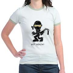 Got Ninja? Jr. Ringer T-shirt