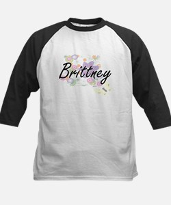 Brittney Artistic Name Design with Baseball Jersey