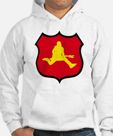 Unique Air guitarist Hoodie
