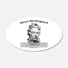 Kierkegaard Prayer Wall Decal