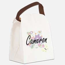 Cameron Artistic Name Design with Canvas Lunch Bag