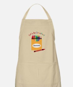 Lets Be Creative Apron