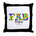 Fab Couture (Brand) Throw Pillow