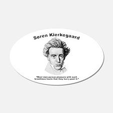Kierkegaard Pleasure Wall Decal