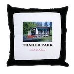 Trailer Park (Brand) Throw Pillow
