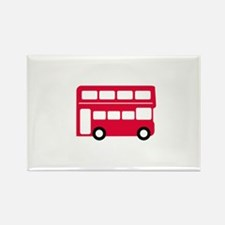 Big Red Bus Magnets