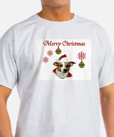 Jack Russell Christmas Greetings T-Shirt