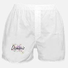 Damaris Artistic Name Design with Flo Boxer Shorts