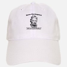 Kierkegaard Philosophy Baseball Baseball Cap