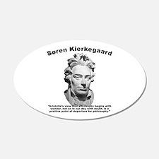 Kierkegaard Philosophy Wall Decal