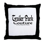Trailer Park Couture Throw Pillow