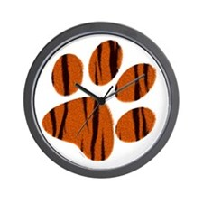 TIGER FUR Wall Clock