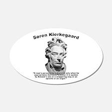 Kierkegaard Personality Wall Decal