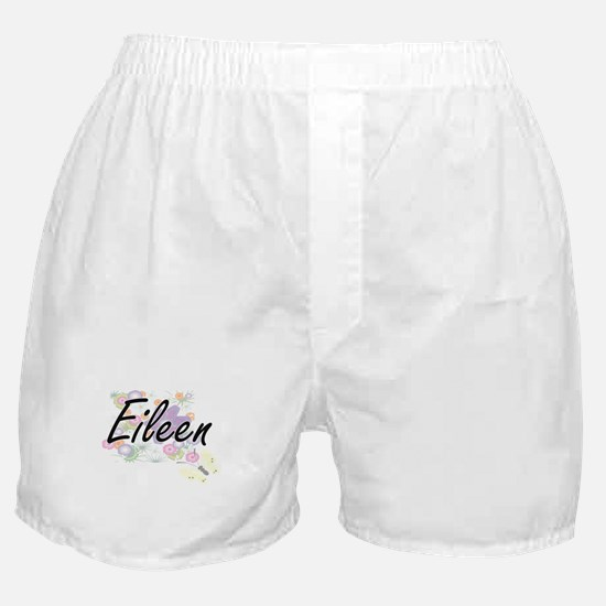 Eileen Artistic Name Design with Flow Boxer Shorts