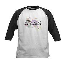 Elisabeth Artistic Name Design wit Baseball Jersey
