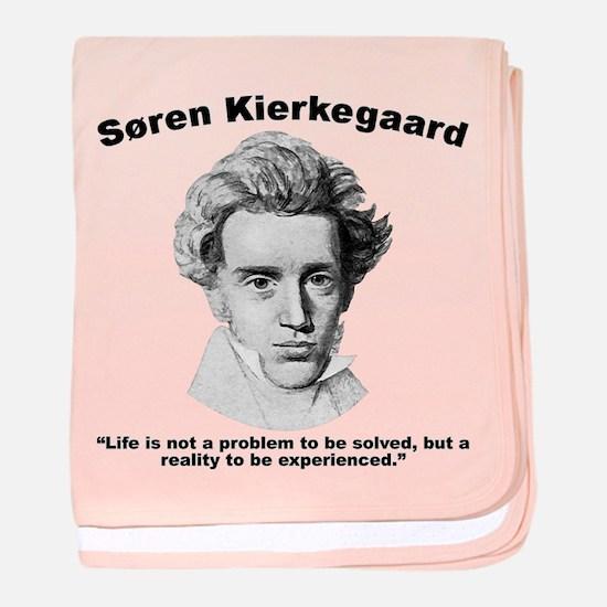 Kierkegaard Life baby blanket