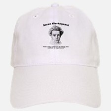 Kierkegaard Life Baseball Baseball Cap