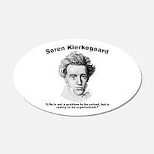 Kierkegaard Life Wall Decal
