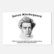 Kierkegaard Life Postcards (Package of 8)