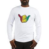 Rasta Long Sleeve T-shirts