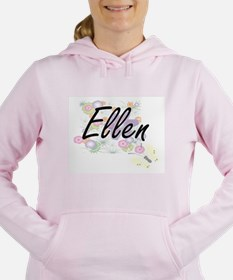 Ellen Artistic Name Desi Women's Hooded Sweatshirt