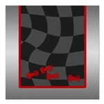 Race Cars Square Car Magnet 3