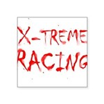 Extreme Racing Square Sticker 3
