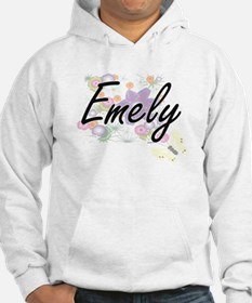 Emely Artistic Name Design with Hoodie Sweatshirt